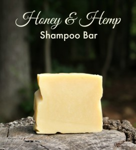 Honey and Hemp Shampoo Bar Recipe
