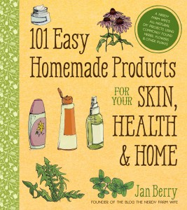 101 Easy Homemade Products for Your Skin, Health & Home – Book Review